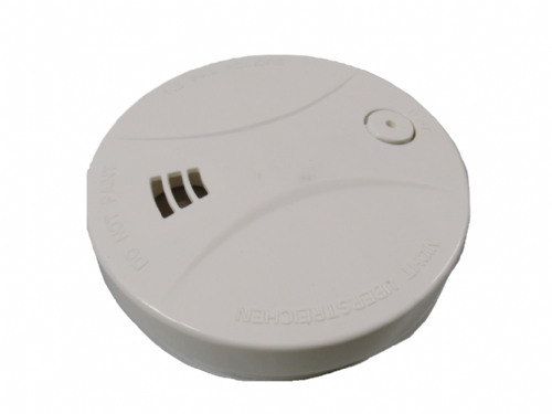 Smoke Detector Fire Alarm Low Profile Sensor - 9V Home Sensor